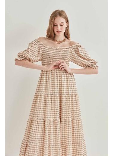 Vitrin Pötikare Gipeli Uzun Country Elbise Vizon